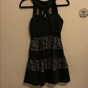 Gorgeous black cocktail dress